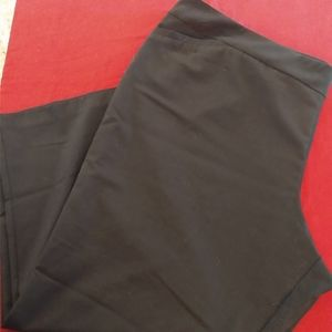 Plus Size Black Avenue Slacks